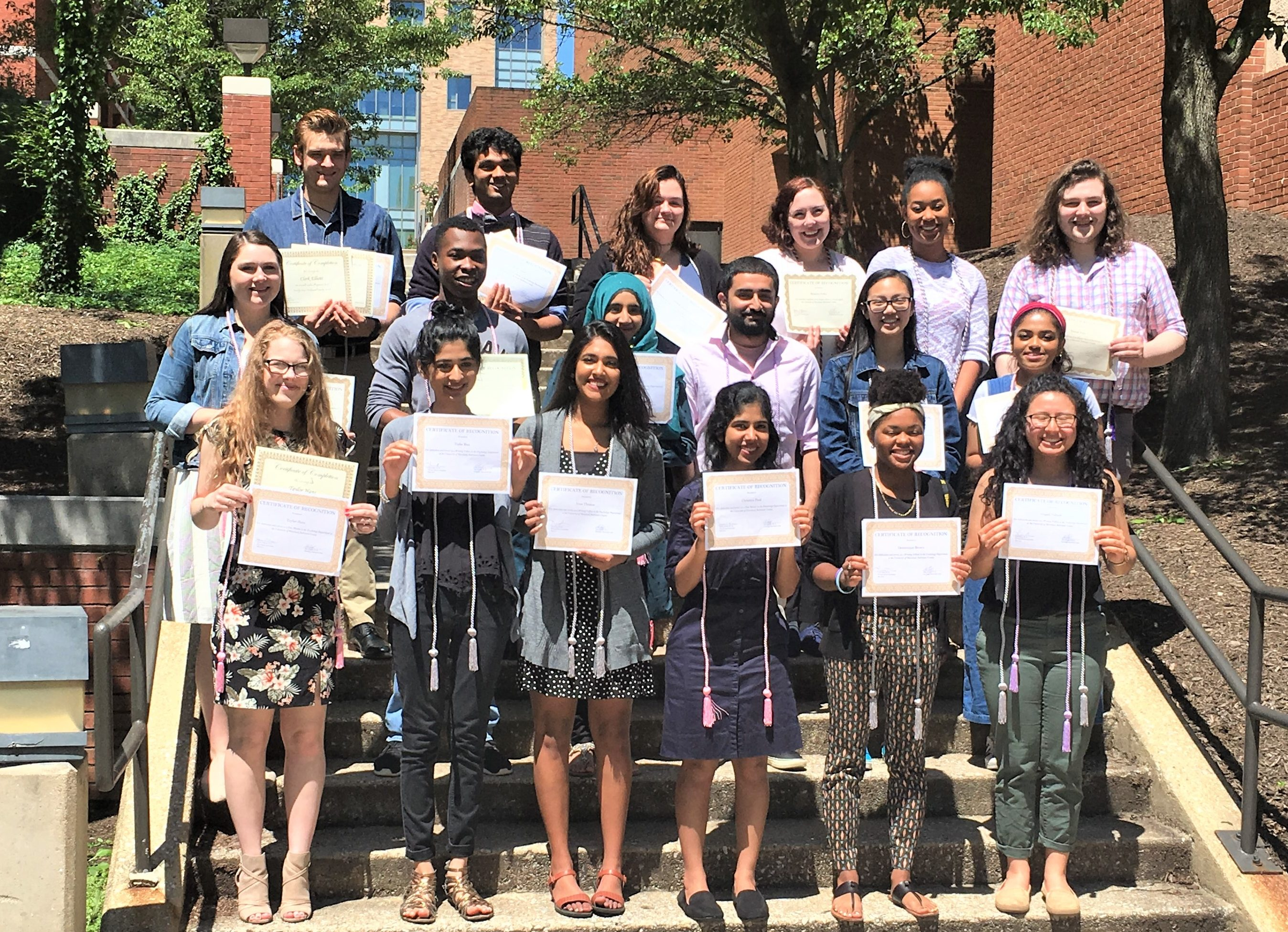 May 2019 Psychology Honors Cord Ceremony